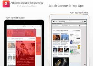 AdBlock Browser for iDevices screenshot
