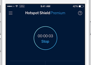 Hotspot Shield VPN for iOS download screenshot