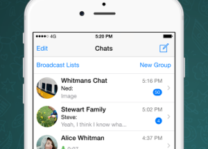 WhatsApp for iOS download screenshot